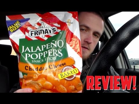 TravTries - TGI Friday's Jalapeño Poppers Snack Sticks: Cheddar Cheese