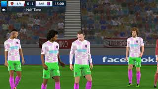 Liverpool vs Barcelona Final - Dream League Soccer 2018 - Android Gameplay #156