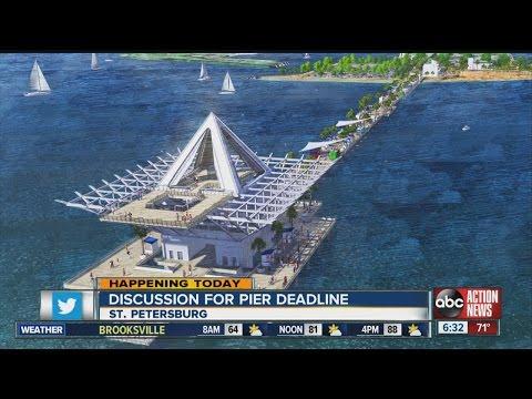 St. Petersburg Mayor Rick Kriseman: New downtown pier will be built by 2018