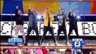 Don't Go Breaking My Heart - Backstreet Boys (Live on GMA) Mp3