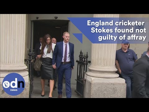 England Cricketer Ben Stokes found not guilty of affray