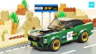 レゴ スピードチャンピオン 1968 フォード・マスタング・ファストバック 75884 / Lego Speed Champions 1968 Ford Mustang Fastback
