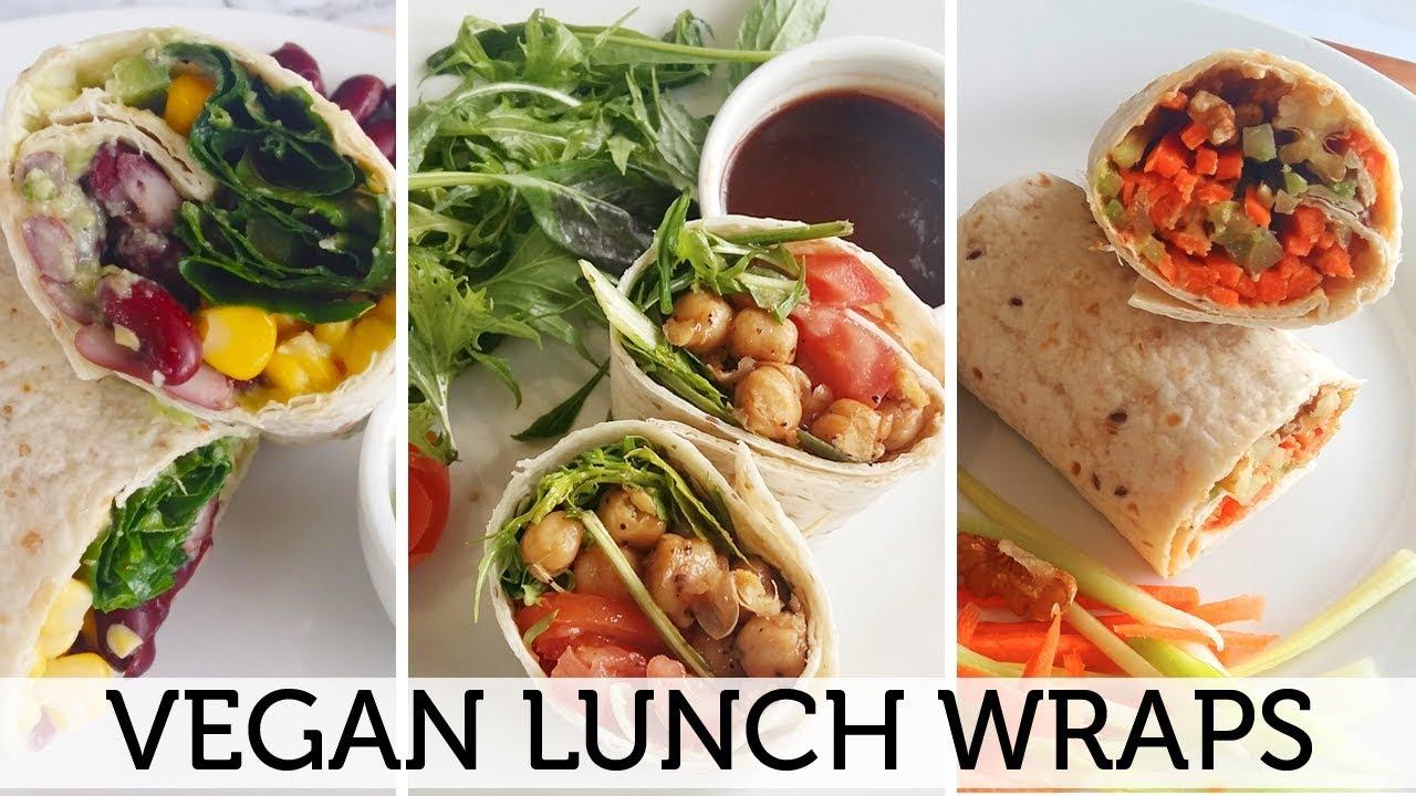 Vegan Lunch Wraps Tortilla Wrap