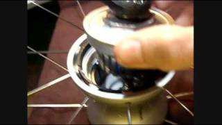 Opening the Shimano hub magneto...see how simple it is?