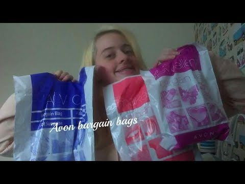 Avon bargain bags//make up, jewellery, bargain bags