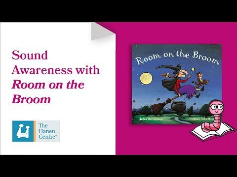 Hanen Book Nook: Building Sound Awareness with Room on the Broom
