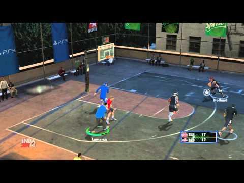 NBA 2K14 Blacktop con un amigo