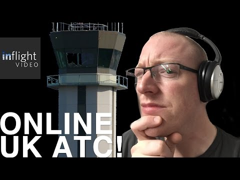 How To Listen To UK ATC Online With GlobalTuners - LiveATC UK! | Inflight Video