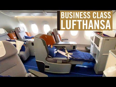 LUFTHANSA BUSINESS CLASS, no A350-900, de São Paulo a Munique