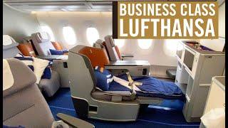 LUFTHANSA A350-900 BUSINESS CLASS, from São Paulo to Munich