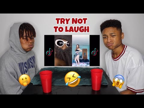 TRY NOT TO LAUGH CHALLENGE (cringy tik tok edition) | Andre Swilley