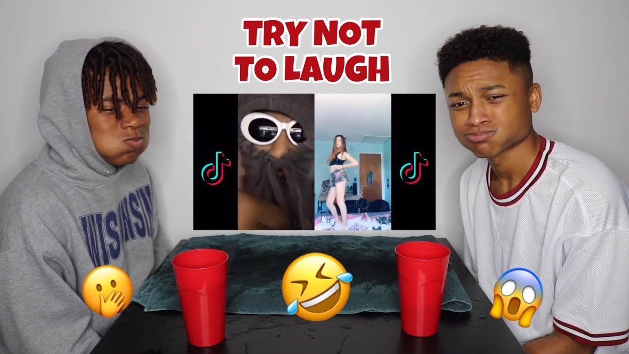 try not to laugh challenge cringy tik tok edition andre swilley