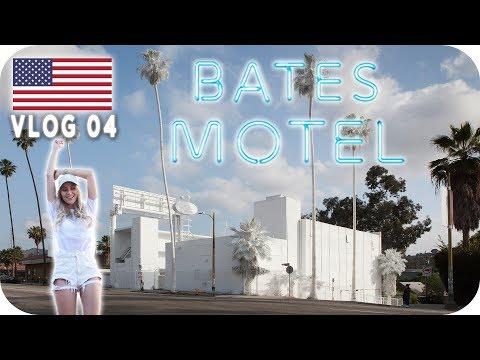 KOMPLETT WEISSES INSTAGRAM HOTEL?! (Bates Motel) - LOS ANGELES Daily Vlog #04 | AnaJohnson