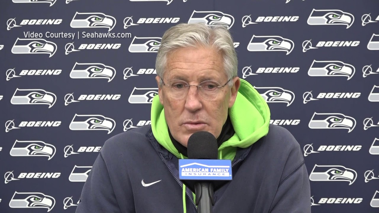 Pete Carroll on Rams Scheme 2020-11-12