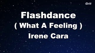 Flashdance What A Feeling - Irene Cara Karaoke【No Guide Melody】
