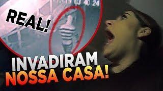 INVADIRAM NOSSA CASA DURANTE A NOITE!