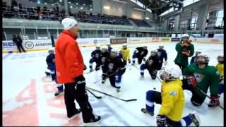 Мастер-класс Владимира Юрзинова и Сергея Немчинова. Упражнения для развития ловкости на льду