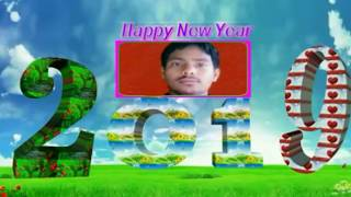 Happy New Year 2019 editing in kine master tutorial