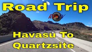 Springtime Drive To Quartzsite - AZ 95 - Parker Dam