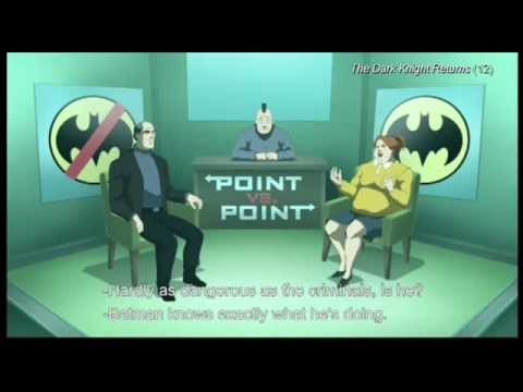 """(clip8) """"This debate is far from over"""" -The Dark Knight Returns"""