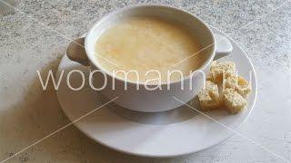 Крем суп с овощами на молоке Cream soup with milk