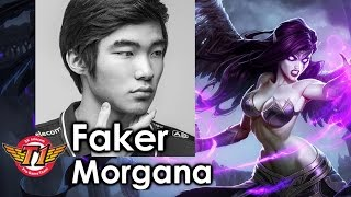 Faker picks Morgana