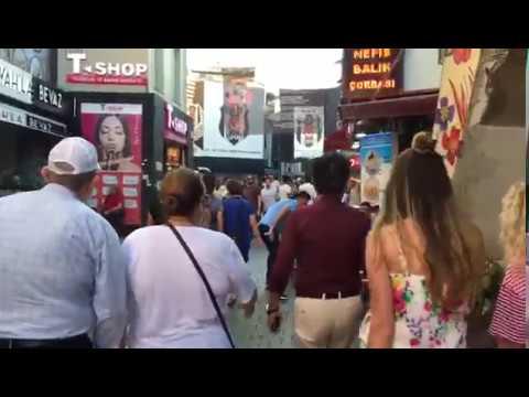 اسطنبول تركيا مدخل سوق بشكتاش istanbul besiktas beşiktaş