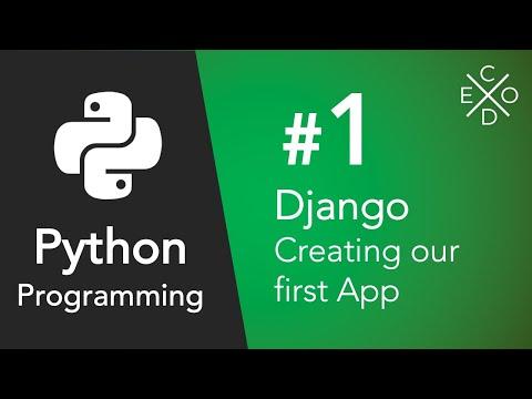 First Django App - Part 1
