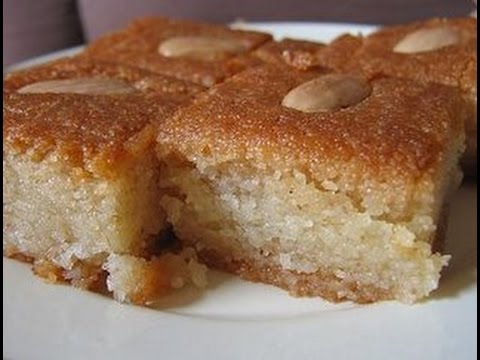 How To Make Basbousa Cake