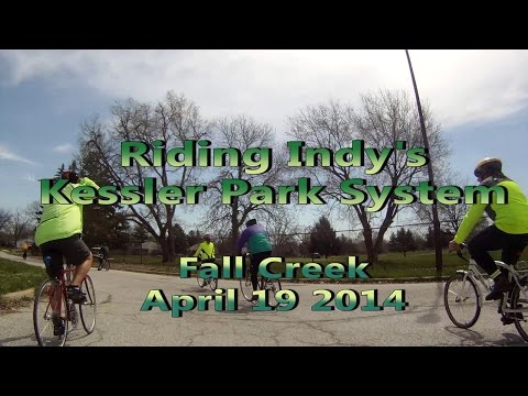 Riding Indy's Park System - Fall Creek