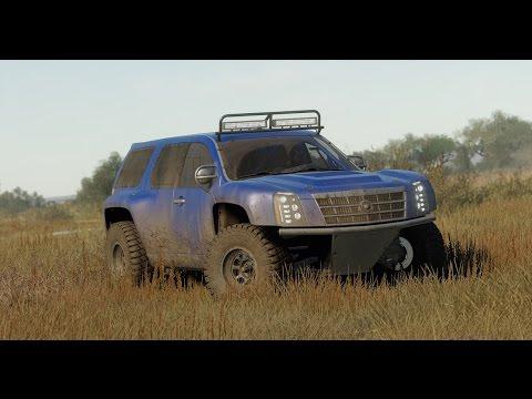 The Crew - cadillac Escalade rally - 2 - YouTube