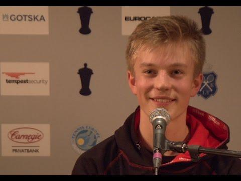 Interview with Joel Pierleoni, quarterfinalist at Kungens Kanna 2017