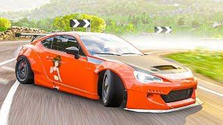 ส้มจี๊ด อีสปอร์ต (2013 Subaru BRZ Drift Forza Horizon 4)