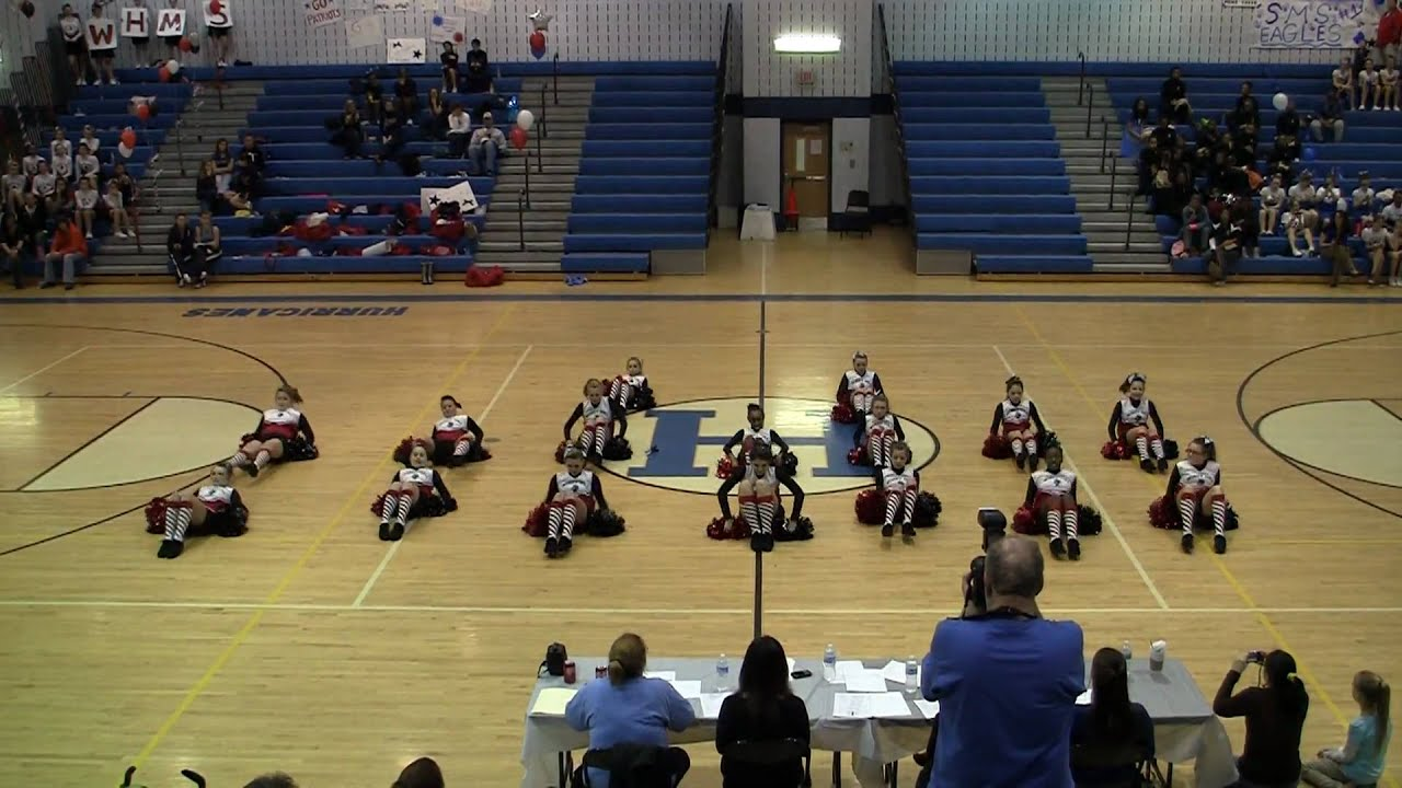 Windy Hill Middle School Poms 13mar2010 Youtube