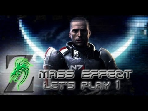 Mass Effect Interactive Let's Play! - Ep. 1 - Shepard has An