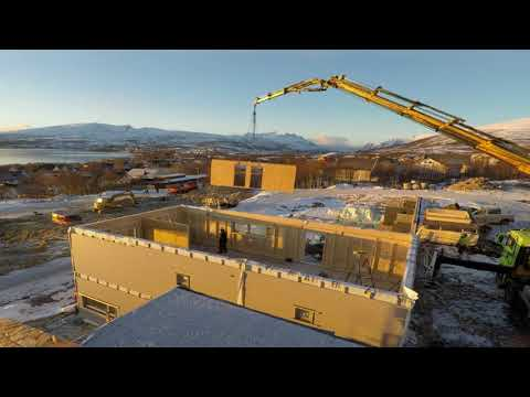 Element husbygging i Norway . Byggmesteren Tromsø
