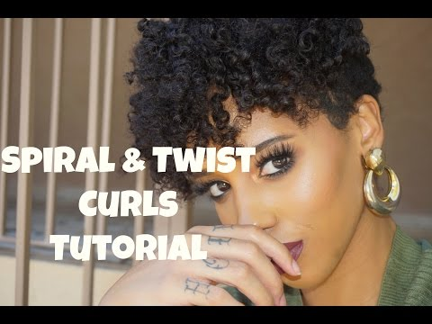 Twist & Curl On Big Chop Hair Extensions