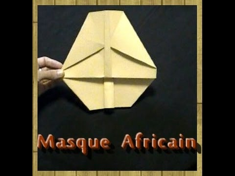 masque africain video