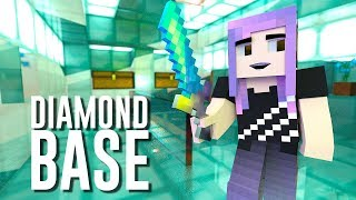 MINECRAFT ALL DIAMOND BASE! | Super Secret Base (Ep. 7)