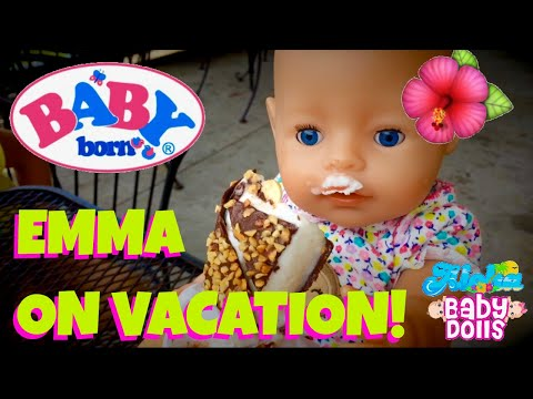 🌺 Baby Born Emma's Adventures Compilation! 🚙 Vacation Packing, Playground Outing & Beach Time! 🏖