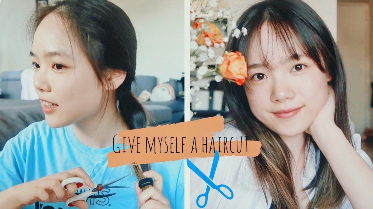 ✂️自己剪头发(太刺激太爽了!)Give myself a haircut 🎉