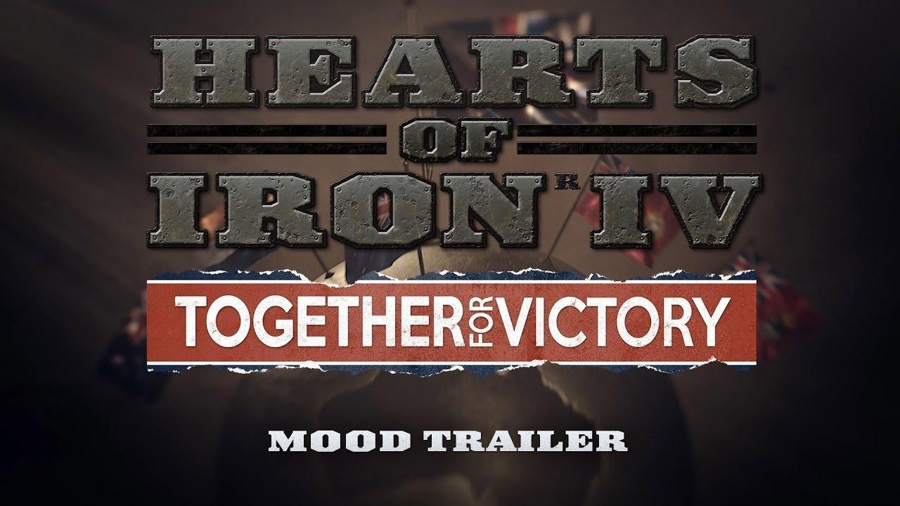 Купить Hearts of Iron IV: Together for Victory (DLC KEY)