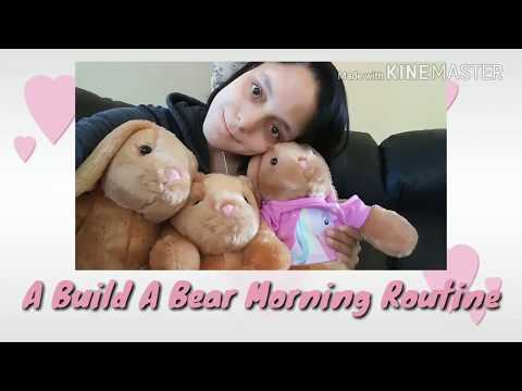 Build A Bear Morning Routine Bunnies