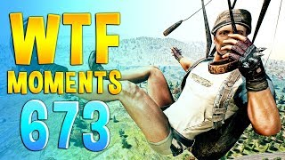 PUBG WTF Funny Daily Moments Highlights Ep 673