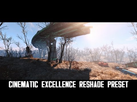 Fallout 4 Mods: Cinematic Excellence ReShade Preset - YouTube