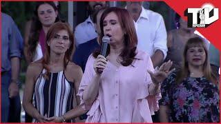 Mirá el Discurso de Cristina Kirchner en Avellaneda. COMPLETO