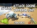 ARK SPAWN: ATTACK DRONE - DEFENSE UNIT - PS4 & XBOX