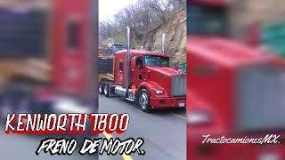 FRENO DE MOTOR | KENWORTH T800 CON MAQUINARIA PESADA.🚛🇲🇽
