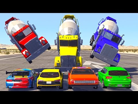 BeamNG Drive - Best of High Speed Crashes - 10,000 Subscribers Special