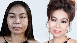 Trang Điểm U45 Da Bị Lão Hoá /Makeup For Women In Their 45S And Sging Skin/ Hùng Việt Makeup